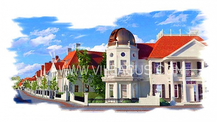photo 1 Create your own street with 10 new to be built villas in Knokke Belgium.
