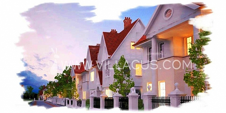 photo 2 Create your own street with 10 new to be built villas in Knokke Belgium.