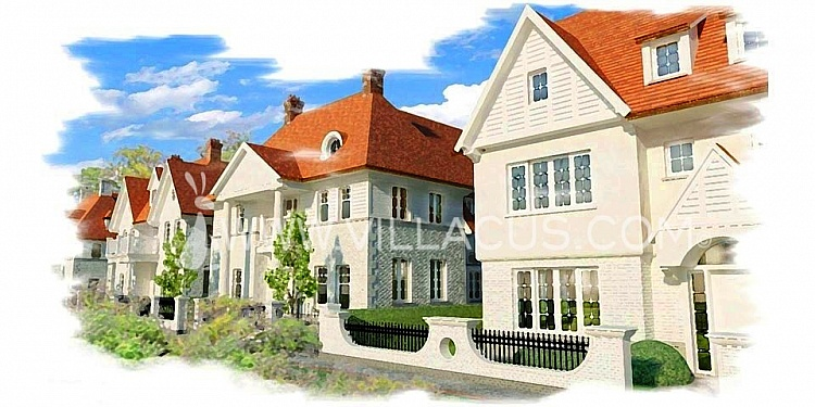 photo 4 Create your own street with 10 new to be built villas in Knokke Belgium.