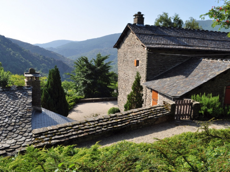 Stylish historic family home near Villefort, Cévennes