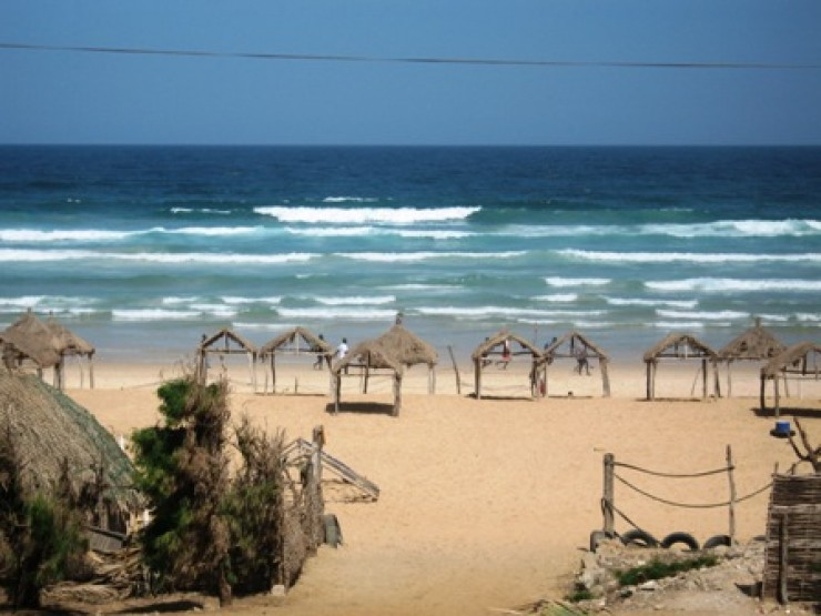 Fabulous spacious detached villa near famous surfing beach of Yoff, Dakar