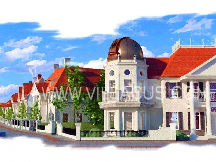 Create your own street with 10 new to be built villas in Knokke Belgium.
